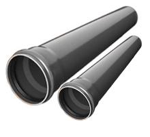 Труба ПВХ d50-110 отрезки 1м,2м,3м.