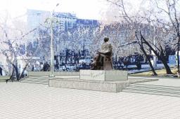 Проект памятника архитектору А.Д.Крячкову