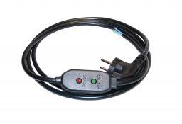 Термостат КИТ для греющего кабеля Thermostat Kit (Model FI-T02A) (Корея) Влагозащищенный !!!