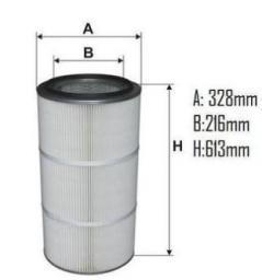 Фильтрующие картриджи для порошковой окраски Filtron AM 484/1 AM 480 AM 480/1 AM 480/2 AM 482