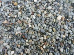 Галька (Енисей) 5-20 мм. Навал
