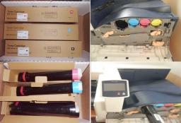 Тонер-картридж XEROX Phaser 7800 / черный,синий,розовый,желтый 17 000 отпечатков