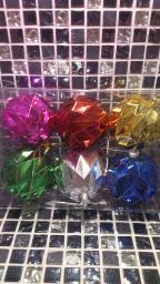 Новогодние украшения шарики цветные: Новогодние игрушки на елку шары 6шт.