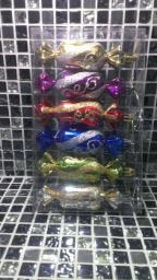 Новогодние игрушки фигурные: Новогодние украшения конфетки.