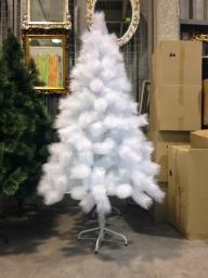 Искусственная елка Белая без напыления опт.: Елка оптом белая 2.1м.