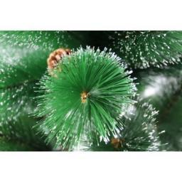 Искусственная зеленая елка с напылением снег: Искусственная елка зеленая снег 2.7м.