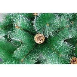 Искусственная зеленая елка с напылением снег: Искусственная елка зеленая снег 3.0м.