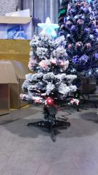Светодиодная елка в снегу опт: Светодиодная елка в снегу опт 0.6м.