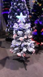 Светодиодная елка в снегу опт: Светодиодная елка в снегу опт 0.9м.