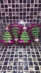 Новогодние игрушки фигурные: Новогодние украшения Елочки.