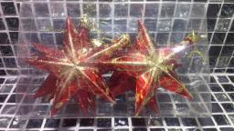 Новогодние игрушки фигурные: Новогодние игрушки звездочки.