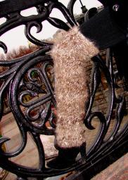 Гетры женские теплые вязанные арт№03ж из собачьей шерсти .