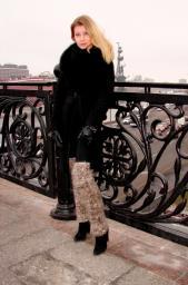 Гетры женские теплые вязанные .Шерсть .