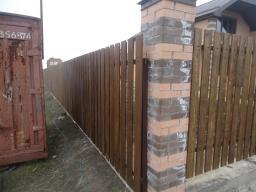 Изготовление деревянных заборов