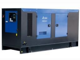Дизельный генератор 100 кВт ТСС Проф в кожухе