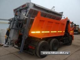 КДМ-7881.02 (аналог ЭД-405А1) на самосвале КамАЗ-65115 с двиг. Евро-4