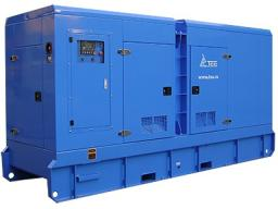 Дизельный генератор 250 кВт ТСС Проф в кожухе