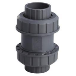 Обратный клапан 2-муфтовый 63