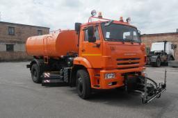 Дорожная машина КДМ-7881.04 на шасси КамАЗ-53605 (двиг. Евро-4)