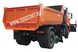 Дорожная машина КДМ-7881.05 на самосвале КамАЗ-53605 (двиг. Евро-4)