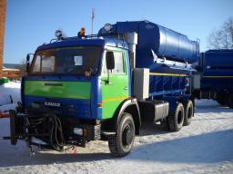 Дорожная Машина ЭД-405 (аналог КО-829Б и КО-823) на шасси КамАЗ-65115