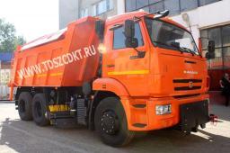 Дорожные машины КДМ на базе самосвалов КАМАЗ с двигателями Евро-3 и Евро-4