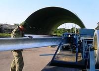 Строительство бескаркасных быстровозводимых ангаров