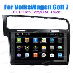 завод оптовая торговля Автомагнитолы 2 din с GPS VW Golf 7 10inch сенсорный экран