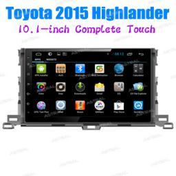 OEM производитель Автозвук 2 Дин автомобильный gps глонасс Toyota Highlander 2015