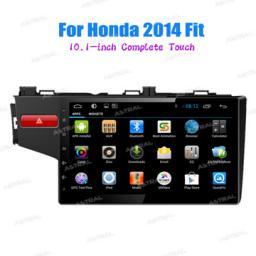 завод Полный сенсорный навигаторы Автомагнитола GPS USB Android для Honda Fit 2014