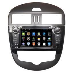 оптовая торговля В-Dash Автомагнитолы 2 din с GPS DVD Nissan Tiida