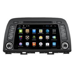 2 Дин самый лучший gps навигатор 8inch сенсорный экран 2014 Mazda 6 / CX-5