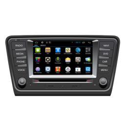оптовая торговля Android DVD-плеер автомобиля для Skoda Octavia 2014 / A7, Хорошее качество