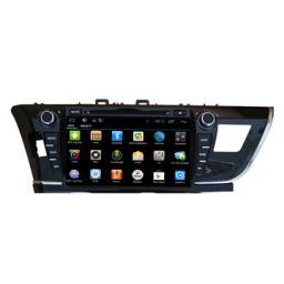 оптовая торговля Android DVD радио Toyota Corolla 2014 gps навигатор автомобильный