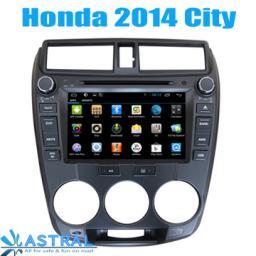 OEM / ODM 2 din автомагнитолы глонасс GPS навигатор системы Honda City 2014