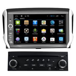 Android Автомобильные головные устройства dvd для авто gps радио Peugeot 208 / 2008