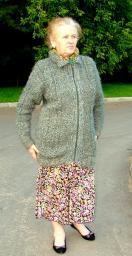 Пряжа натуральная на теплый свитер, кардиган