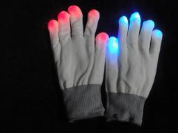Светодиодные светящиеся перчатки 1120206