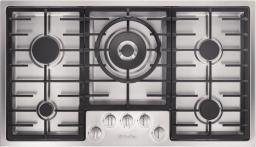 Встраиваемая газовая варочная панель Miele KM2356 сталь
