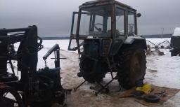 Ремонт тракторов в Москве и области на выезде