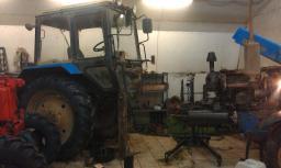 Ремонт тракторов Беларусь