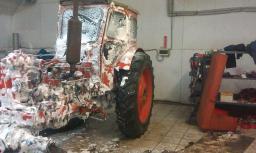 Замена сцепления на тракторах с выездом