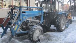 Ремонт тракторов МТЗ-82.1 на выезде.