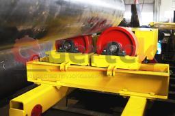 Вращатель сварочный роликовый саморегулирующийся г/п от 40 т - 150 т