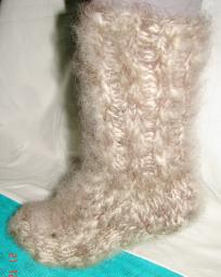 Носки теплые вязанные толстые .Шерсть.