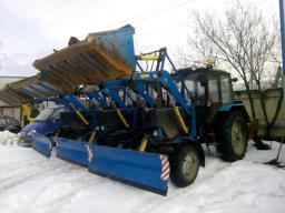 2014г Трактор мтз 82.1 + пфс-075 бку + Навеска