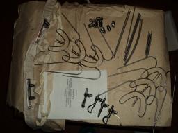 Набор для внеротовой фиксации отломков нижней и верхней челюсти