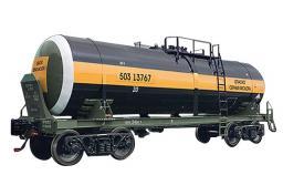 15 157 Вагон-цистерна четырехосный для перевозки серной кислоты