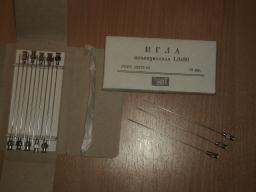 Игла иньекционная для шприцов многоразового применения (типа Рекорд)