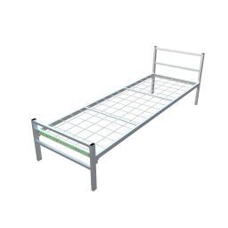 Кровать металлическая одноярусная сетка сварная 100*100мм